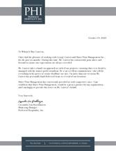 Letter of Recommendation - Market Broiler